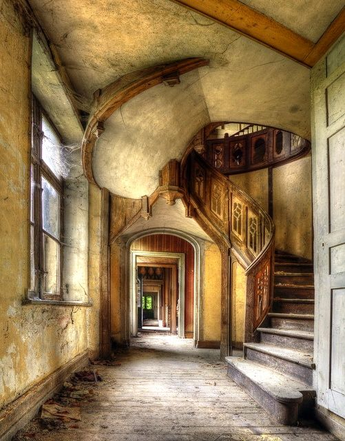 abandoned elegance wonderful staircases pinterest. Black Bedroom Furniture Sets. Home Design Ideas