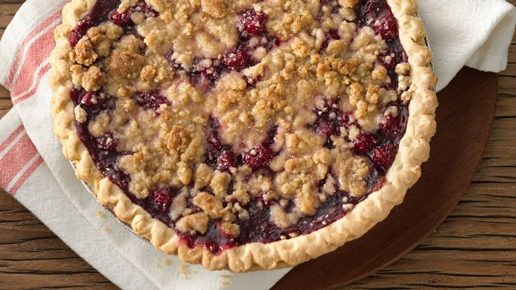 Cherry Crumb Pie – Upgrade classic cherry pie with a crumbly streusel topping that will turn heads and make mouths water.