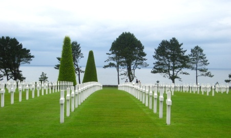 American National Cemetary, Omaha Beach, France.  So powerful, this is a trip I will never forget.