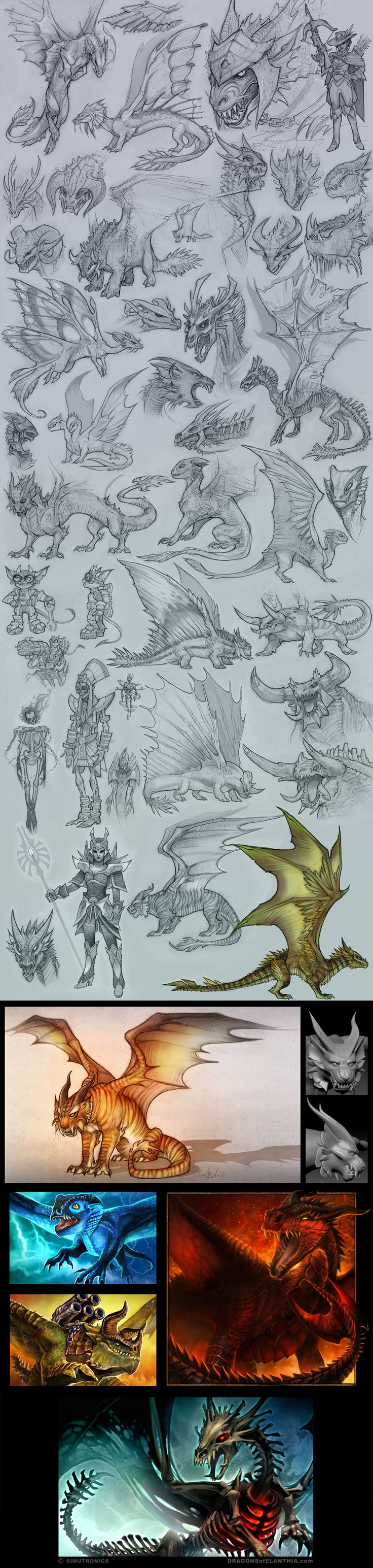 Dragons Dragons Dragons by tracyjb ---- Clearly, someone has more time to draw dragons than I do.