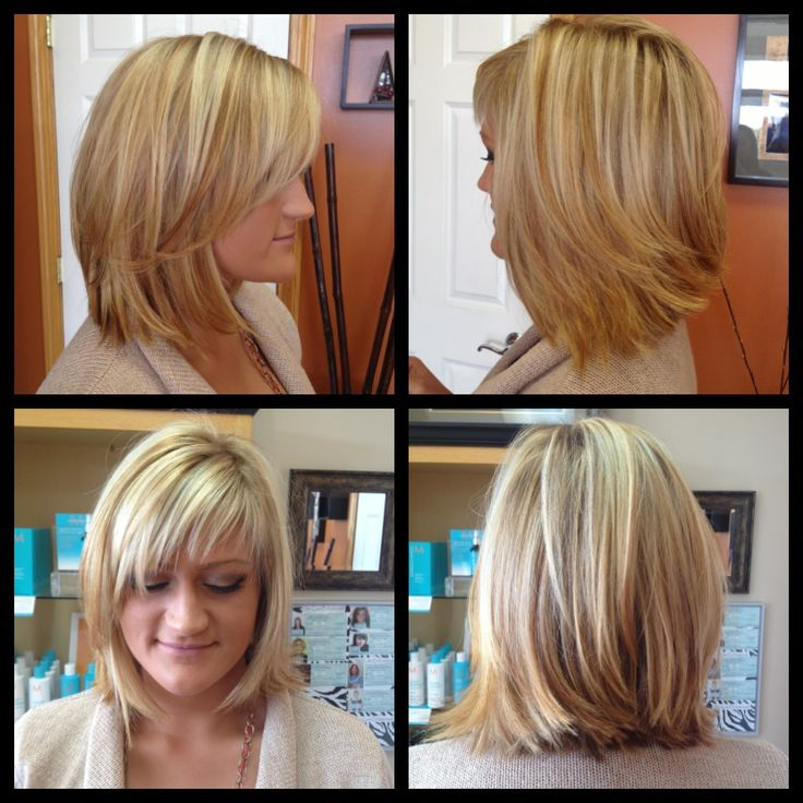 layered haircuts for balayage highlights w chesnut lowlights angled bob 1693