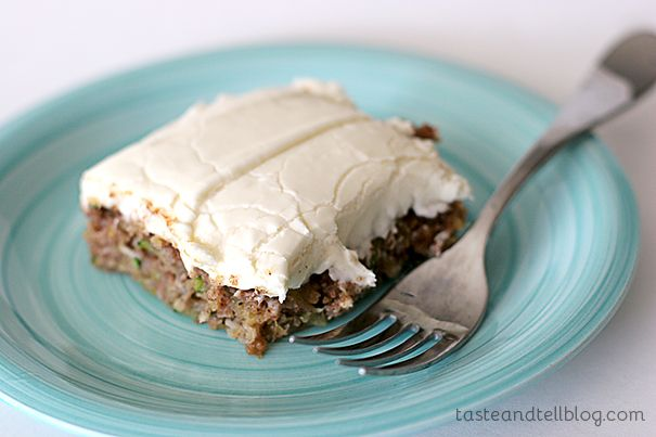 Pineapple Zucchini Sheet Cake with Cream Cheese Frosting | www ...