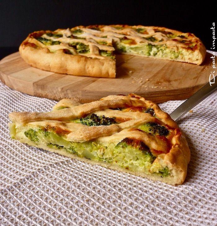Di pasta impasta: Torta salata con broccoli siciliani
