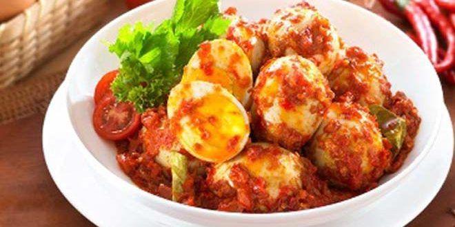Menu Makan Siang Nanti Dengan Telur Balado Padang Resep Masakan Resep Masakan Indonesia Masakan Indonesia