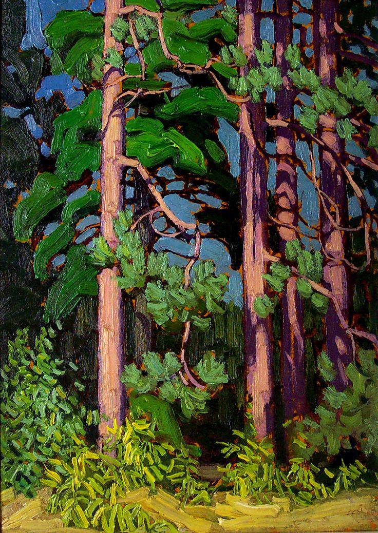 Trees, Algonquin Park (1916) - Lawren Harris