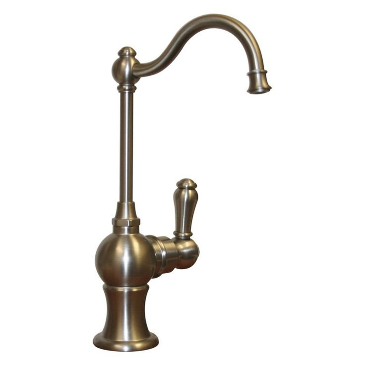 Whitehaus WHFH3-C4121-AB Point of Use Drinking Water Faucet - WHFH3-C4121-BN