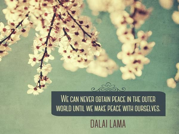 Happiness & Inner peace go hand in hand