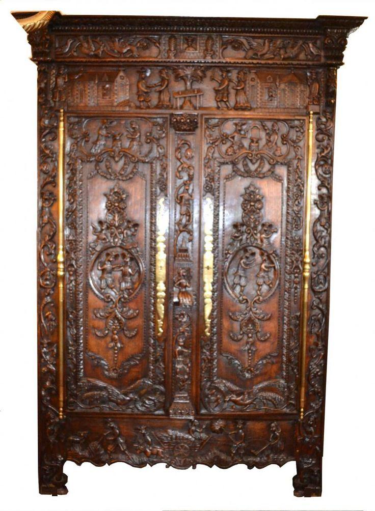 153 Best Carved Furniture Wood Carving Images On Pinterest