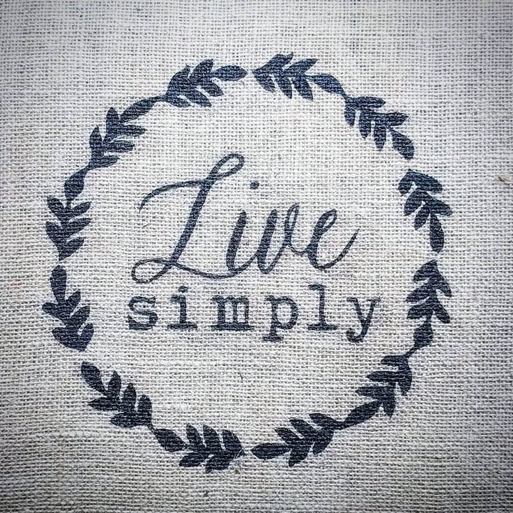 This is definitively a life motto.  #burlap #freezerpaperstencil #customization #doityourselfproject #chalkpaint #lifemotto
