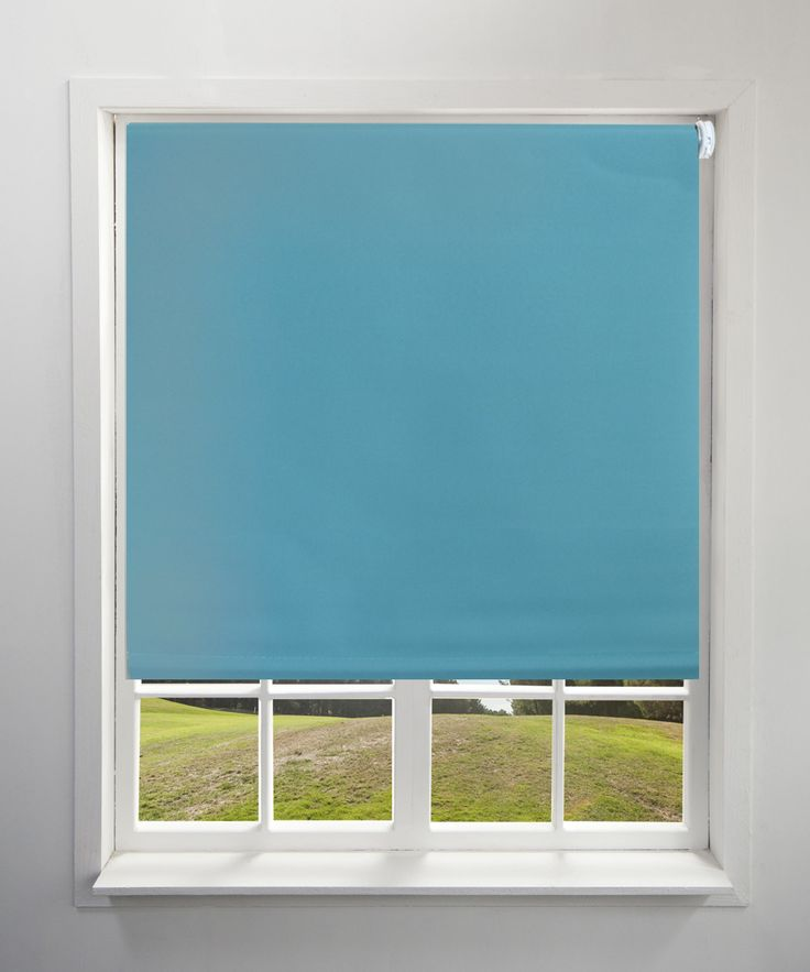 17 Best Ideas About Teal Roller Blinds On Pinterest
