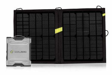 Need to finish that project but still wanna go camping? Maybe you just wanna watch a movie in your tent at the beach.   Check out Goal Zero's Sherpa 50 Solar Kit   Complete Solar Kit    High powered enough to charge your laptop with solar energy.   #goalzero #solarenergy #laptoppower