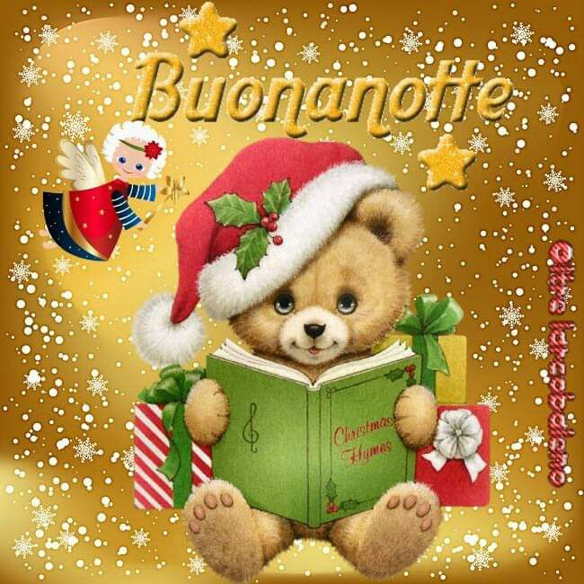 Immagini Buonanotte Natalizie.Buonanotte Natalizia Christmas Buonanotte Dolci Notti E