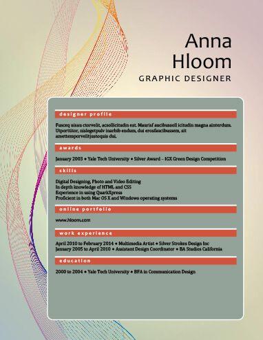 24 best Resume Inspiration images on Pinterest Creative resume - combination resume template