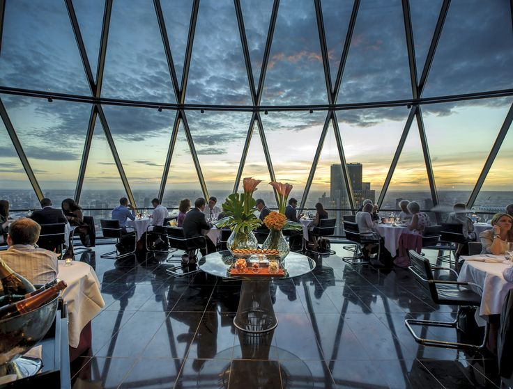 Searcys at The Gherkin: Top 50 best London restaurants with a view