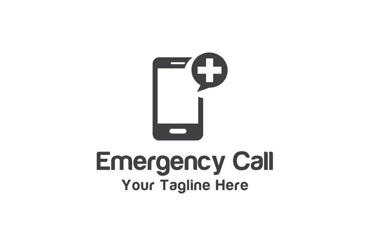 Emergency Call Template by Logo20 on @creativemarket