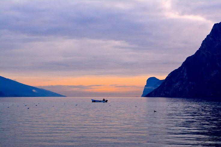 Il pescatore e il tramonto by Stefania Salvadori on 500px