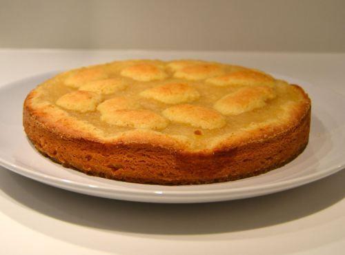 Majlis goda kaka med äppelmos
