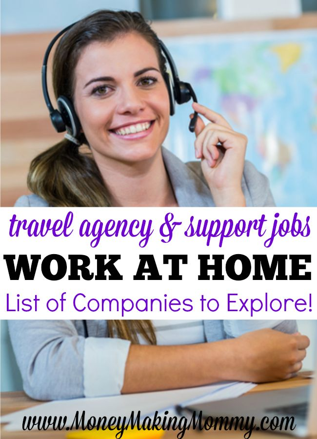 Like the idea of helping others with their travel plans or travel needs? How about being able to do this type of work from home? You can! Check out this list of companies that hire travel support and travel agents! MoneyMakingMommy.com