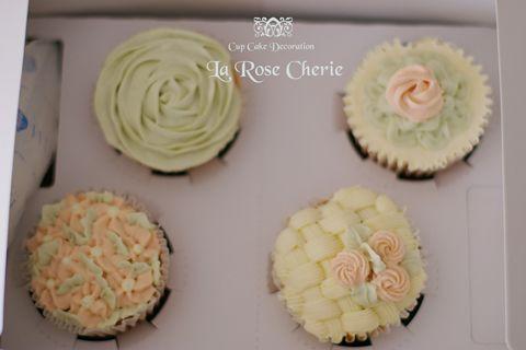 デコレーション教室 La Rose Cherie(ラ・ローズ・シェリー) -カップケーキ デコレーション 天然色素