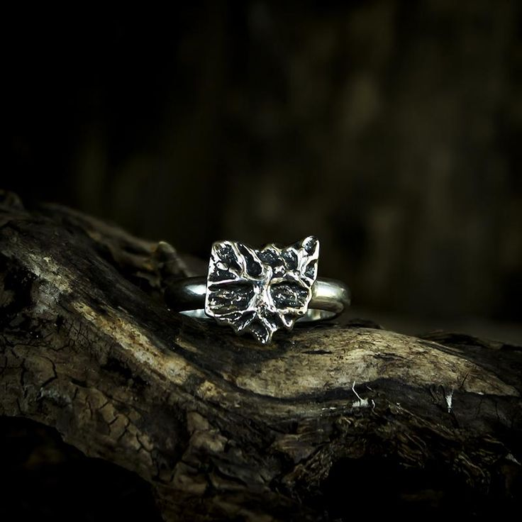 Sterling Silver Ohio Tree Ring