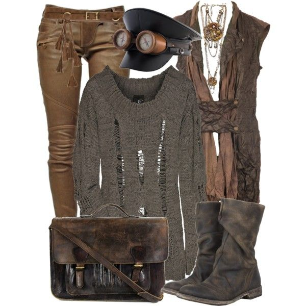 Post Apocalyptic, created by smylin on Polyvore