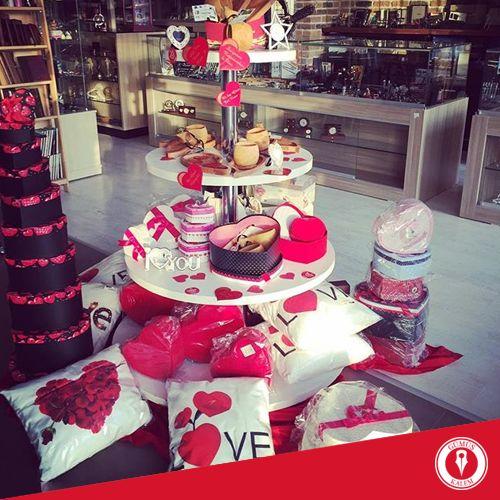 Önümüz Sevgililer Günü ve tabiki biz hazırız! www.gumuskalem.com.tr