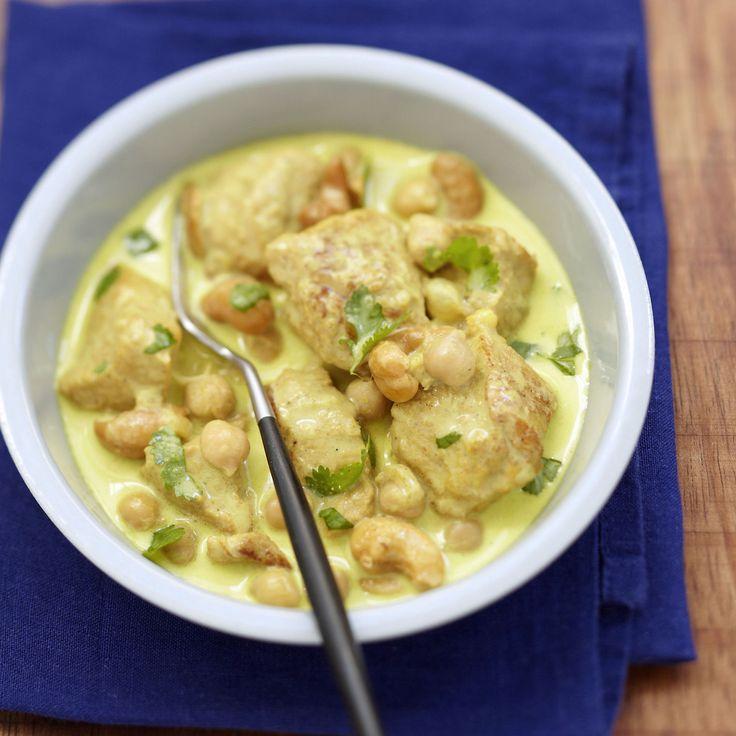 Découvrez la recette du curry de veau