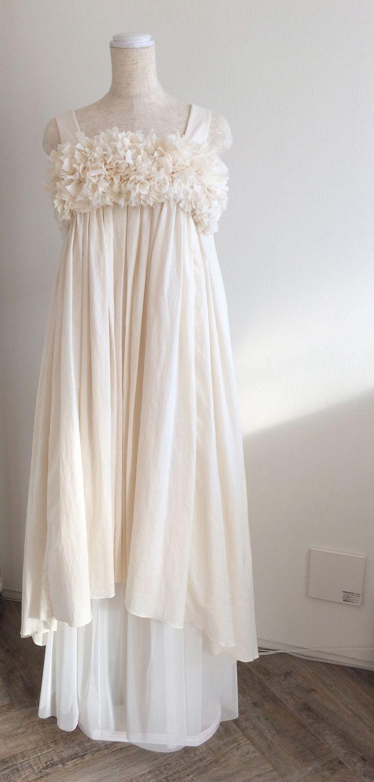 新作ドレスのご紹介*コットンドレスが人気のLucy*の画像 | ナチュラル&カジュアルウエディングドレス専門サロン blancobia…