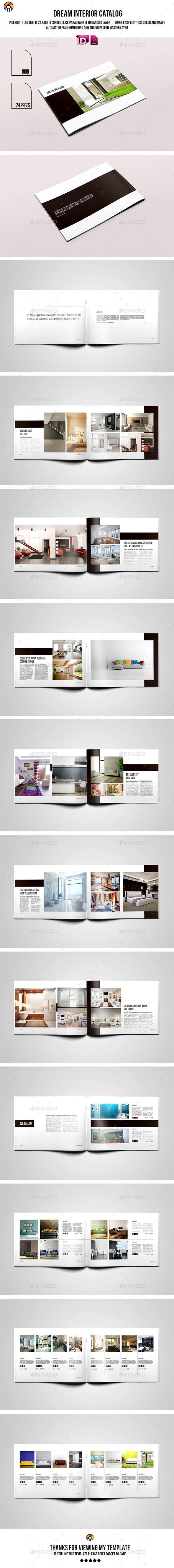 Dream Interior Catalog Brochure Template #design #catalogtemplate Download: http://graphicriver.net/item/dream-interior-catalog/11723018?ref=ksioks