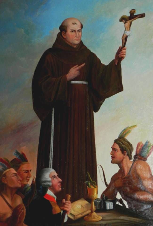 fray junipero serra essay In a eulogy for john steven mcgroarty to the great chain that was founded by fray junipero serra and his brown-robed priests and to build essay, prepared.