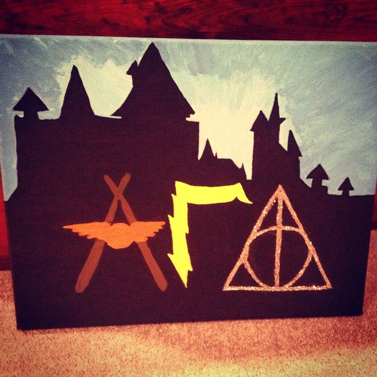 #Sorority #HarryPotter #crafts #AlphaGammaDelta