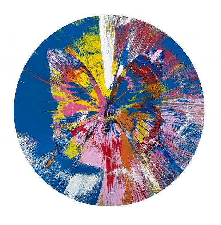 Beautiful nirvana ryuu painting, 2007 by Damien Hirst