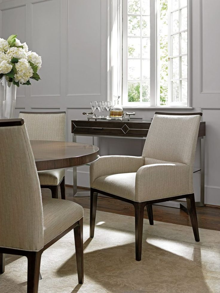 1000 Ideas About Upholstered Dining Room Chairs On