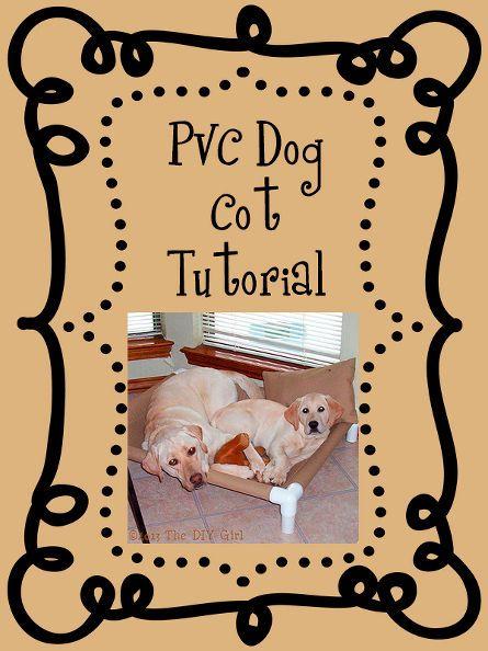 pvc dog cot tutorial, diy, how to, pets animals, repurposing upcycling
