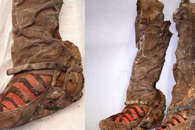 Πιερία: Βρέθηκε μούμια με παπούτσια Adidas