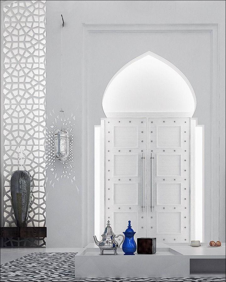 17 mejores ideas sobre dormitorio marroqu en pinterest - Casas estilo arabe ...