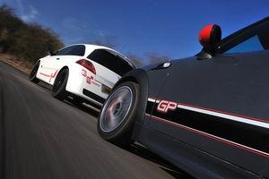 Mini GP vs Audi A1 quattro vs Focus RS500 vs Megane R26.R