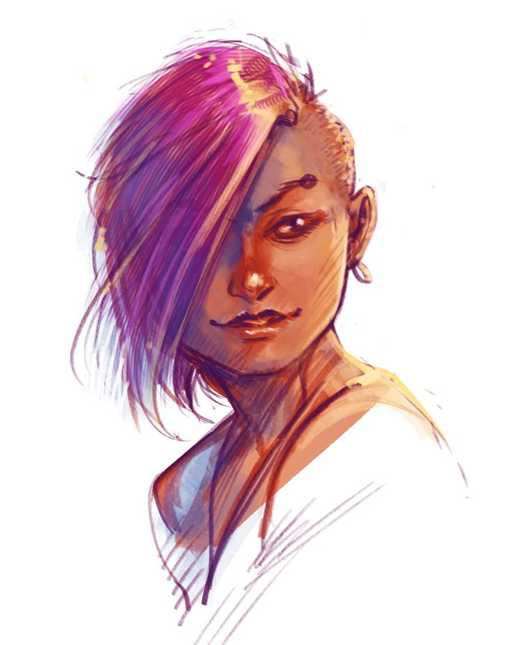 """Been experimenting with the new Photoshop CC 2018 and seeing how the brushes are different this time 'round.  I also downloaded Tablet Pro, a windows app that adds some much-needed touch buttons like """"alt"""" when you're in things like photoshop.   Hopefully, this will mean more work done in Photoshop!"""