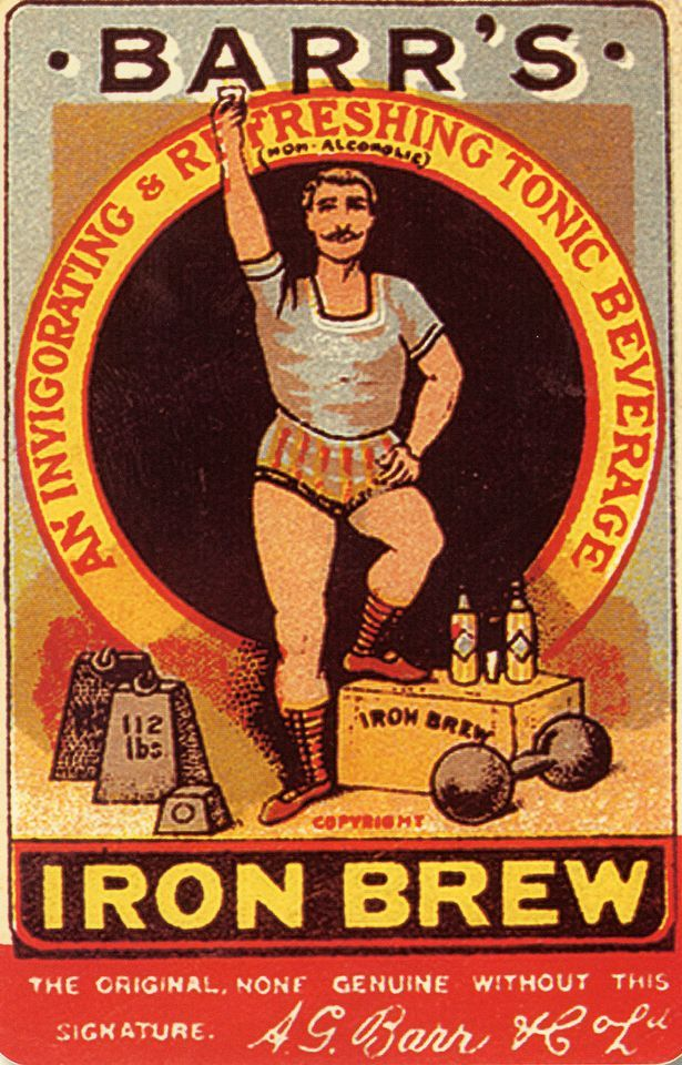 """Before it was """"Irn Bru"""" this is what """"Your other national drink"""" looked like."""