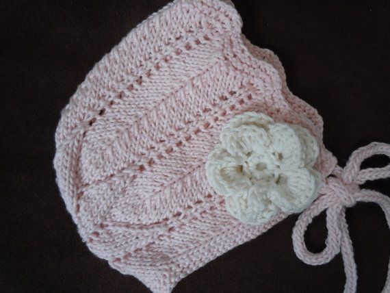 Vintage Baby Bonnet Girls Baby Easter Bonnet Spring Hand