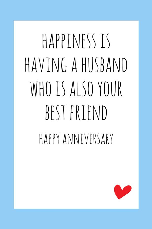 Anniversary Card Digital Printable Card Anniversary Quotes Funny Anniversary Cards For Husband Anniversary Poems For Husband