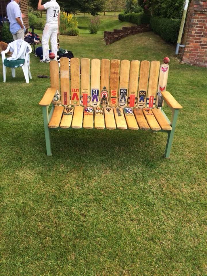 Stuck for an idea for your old bats ??? How about a new chair ?