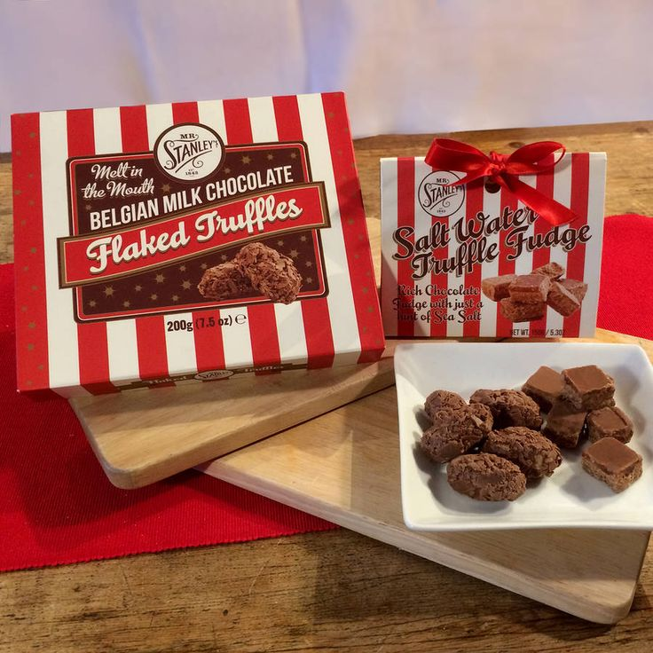 Mr Stanley's Flaked Truffles And Truffle Fudge