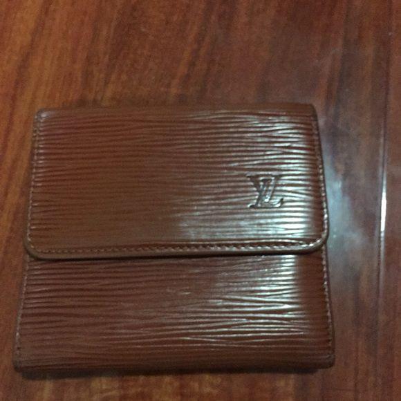 lv mens wallet authentic brown vintage wallet Louis Vuitton Accessories