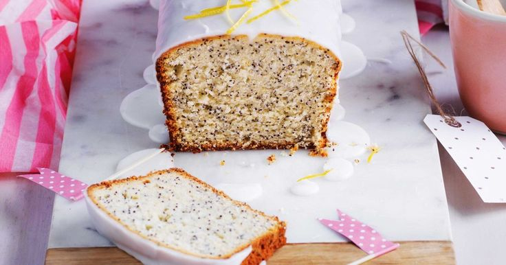 Pair your afternoon cuppa with this delicious lemon and poppyseed cake.