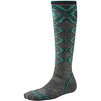 Amazon.com : Smartwool Women's PhD Ski Light Pattern Socks - Past Season : Sports & Outdoors