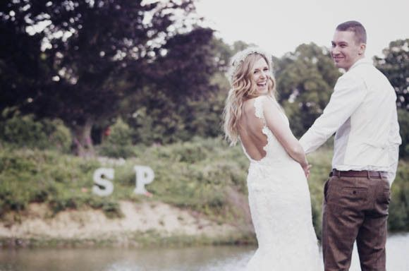 A Gypsophila Floral Crown for a Flower Fairy Inspired Bride…   Love My Dress® UK Wedding Blog
