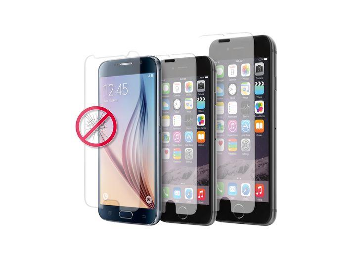 [CATALOGUE PRINTEMPS 2015] Protecteur d'écran en verre trempé: La protection définitive pour ton écran. Pour Samsung Galaxy S6, iPhone 6 et iPhone 6 Plus Résistent aux impacts Anti-écorchures, anti-huile, anti-bulles Ultra subtil et ultra transparent Lingette nettoyante, anti-poussière et stickers pour une applica- tion facile du protecteur d'écran inclus dans l'emballage RÉF. SDGGALAXYS6SG, SDGIPHONE647, SDGIPHONE65