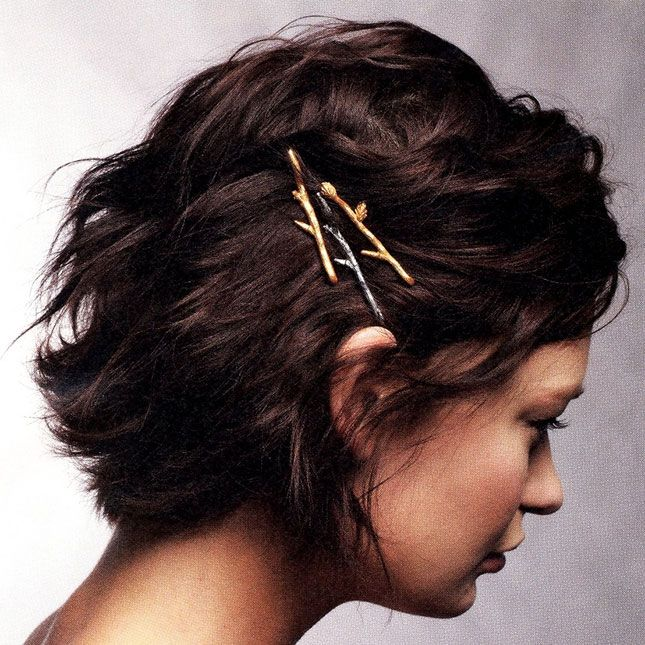 Twig Bobby Pins | 40 Hair Accessories You Can Buy or DIY