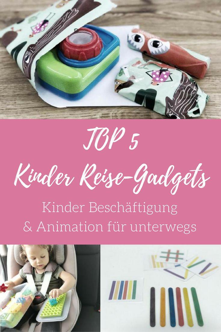 TOP 5Kinder Reise-Gadgets - Kinder Animation für unterwegs